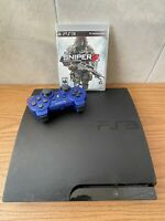 Sony PlayStation 3 Slim 500GB SSHD PS3 Console  + CONTROLLER + GAME TESTED