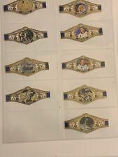 More details for vintage cigar bands labels set of 9 washington moon landing  free post