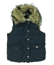 womens Gilet Ralph Lauren Denim & Supply bodywarmer, faux fur, size S - Blue