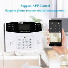 Wireless GSM SMS Home Burglar Security Alarm System Detector Sensor Kit EU T8J8