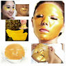 Gold Anti Ageing Collagen Crystal Skin Wrinkle Moisturizing Lip Eye Face Mask UK