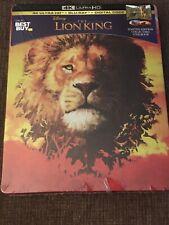Disney's The Lion King 2019 Steelbook ( 4K Ultra HD, Blu Ray, Digital) Sealed!