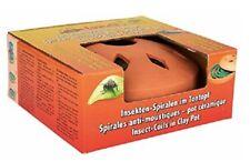 Favorit Insekten-Spirale Räuchertopf incl 2 Anti-Mücken-Spirale Insektenspirale