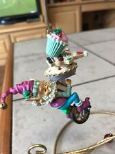 ENESCO CHRISTMAS ORNAMENT: NORTH POLE VILLAGE WEE TREE TRIMMER TOODLES NEW
