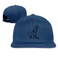 Tiger Calvin And Hobbes Snapback Baseball Hat Adjustable Cap
