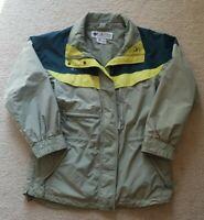 Columbia Boulder Ridge Womens Green Polyester Jacket Sz Medium