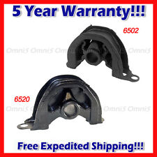 A242 Fits 1992-1993 Honda Civic 1.5L CX DX LX Front & Front RT Lower Motor Mount