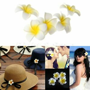 10PC Artifical Foam Frangipani Flower Fake Plumeria For Wedding Party Decoration