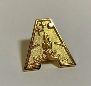 Gerry Anderson 'A' Metallic Pin Badges