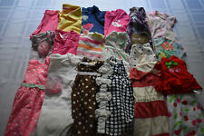 USED 29 PC. LOT OF BABY GIRL CLOTHES 3-6 MONTHS EUC/VGUC