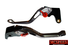 DUCATI Monster 1100S/ABS 2009-2013 palancas del Freno & Embrague CNC Ajustable Titanio
