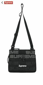 Supreme Side Bag | 4.5L | Black / Grey with Box Logo | In Stock | Used Once
