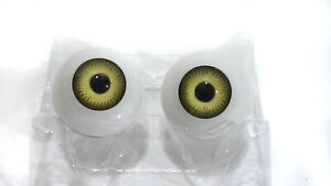 "Plastic hazel doll eyes (FA-B), eye size 1.02"", 26 mm"