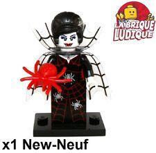 Lego - Figurine Minifig Minifigurine série 14 monsters Spider Lady araignée NEUF