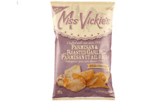 Miss Vickies Kettle Cooked Potato Chips PARMESAN & ROASTED GARLIC 220g CANADIAN
