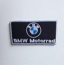 BMW Motorrad round Car Badge Iron or sew on Embroidered Patch