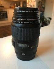 Canon 100mm F/2.8 Macro EF USM Lens