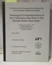 New listing Green River Basin Oil, Gas Geology; Cretaceous Geological Formations