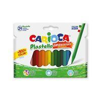 CARIOCA Plastello Plasticera Scatola da 24 Pezzi