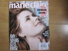 Marie Claire U.S.A Magazine July 2018 Amy Adams New.