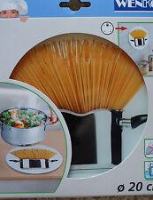 WENKO Topfuntersetzer Spaghetti Glas modern Topf Pfanne Untersetzer Hitzeschutz