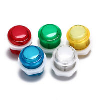 24mm led illuminated 5v push buttons built-in switch for arcade joystic_ti