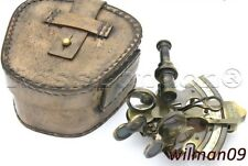 Messing Schiff Sextant - Marine - Kelvin & Hughes London 1917 mit Box