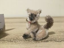 Deb Canham Miniature Mohair Cat PONG Siamese Looking  #197 of 1000 Uncommon