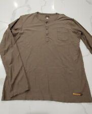 Diesel men's size XL henley shirt button front
