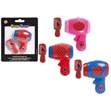 Funny Hairdryer & Comb Shape Pencil SHARPENER & ERASER Girls Novelty School Set