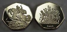 ST GEORGE & THE DRAGON Silver Commemorative ERROR COIN Albums/Collectors RARE