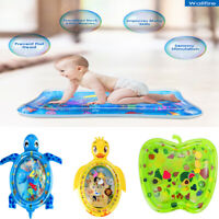 Inflatable For Infants Toddlers Baby Water Play Mat Pad Fun Tummy Time Sea World