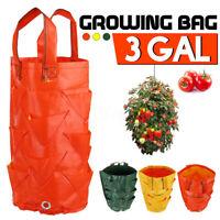 3GAL Hanging Garden Growing Bags Yard Planting Bag Tomato Flower
