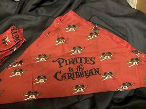 LOT OF 15 Disney Pirates in the Caribbean Scarf Bandana Mickey Mouse Party