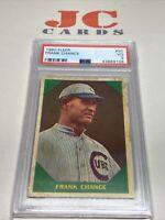 1960 Fleer Frank Chance #50 PSA 3 VG Chicago Cubs