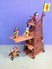 (L11) playmobil Tour d'assault bélier, chateau  ref 3887 3666 3268