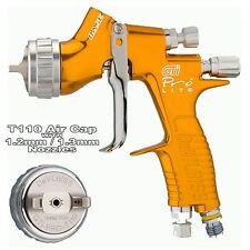 Devilbiss ProLite GOLD T110 CLEARCOAT / LUCIDO LISCIO Pistola A Spruzzo 1,2 / 1,3 mm Setup
