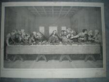 La Cène - Gravure milieu XIXèS
