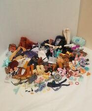 Huge Lot Bratz clothes,handbags shoes,coats,jeans, Accessories  100 + pieces