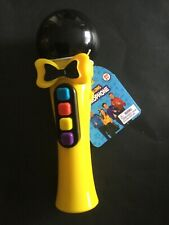 The Wiggles Sing Along Yellow Microphone Bnwt Free Shipping