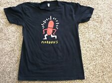 """2018 Maroon 5 """"The Forum� Concert Tee Shirt, Size Large"""