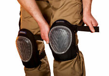 Portwest KP30 Super Silicone Gel Protective Strap On Knee Pad with PVC Shell