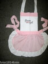 GEORGOUS KIDS FLOWER GIRL APRON Made to order Various colour and embroideries