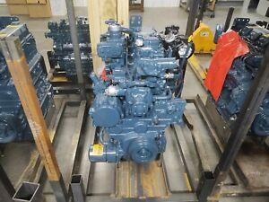 Reman Engine V3800T-CR-T4I Fits Kubota SVL90-2 Track Loader