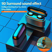 Bluetooth 5.0 Headset TWS Wireless Earphones Mini Touch Earbuds Stereo Headphone
