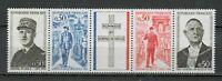 s25075) FRANCE 1971 MNH** Charles de Gaulle 4v+tab