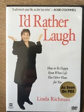 Linda Richman - I'd Rather Laugh DVD How to happy when life has other plans