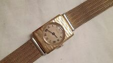 Invicta Lady Wristwatch - 21Mm Diameter - Gold Plated - Manual Winding - Working