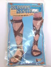 Roman Sandals 60's Hippie Halloween Costume Accessory Nativity Shephards