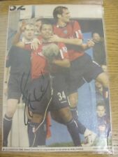 """1950's-00's Autograph: West Bromwich Albion - Robert Earnshaw [Approx 7""""x 10""""] H"""